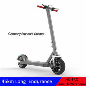 EU Standard 10 Inch Fat Tire Electric Bike 36V 350W Adult Electric Folding Kick Scooter with Double Shock Absorption Night Reflective Ebike