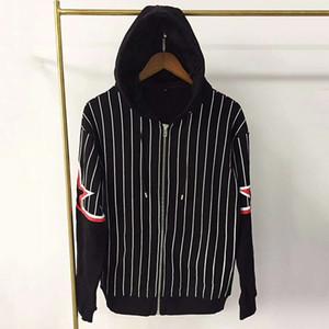 Mens Stylist Jacket Capispalla alta qualità delle donne Giacche Moda Uomo Stylist cappotti Hooded Zipper manica lunga Dimensione M-XXL