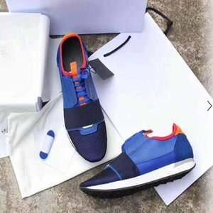 New Popular Designer High Quality Man Woman's Fashion Low Cut Lace Up Breathable Mesh Sneaker Shoe Outdoors Race Runner Casual Shoes f1g