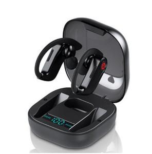 Es cierto HBQ PRO TWS auricular inalámbrico Bluetooth 5.0 estéreo auriculares del deporte impermeable gancho del oído de los receptores de cabeza Mic PK P32 P67 TWS