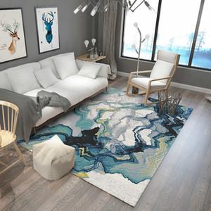 مرحاض ديكور السجاد فن السجاد الحديثة للغرفة المعيشة المستخلص كبيرة المساحة سجاد لغرفة نوم طاولة القهوة الرئيسية الكلمة حصيرة / R