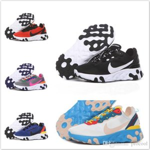 2019 React Element 87 Kids Running Shoes Undercover Upcoming Pack Sports 55 boys girls baby children Trainers Designer Sneakers