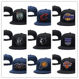 2019 neue Männer Frauen Basketball Snapback Baseball Snapbacks Alle Teams für Männer Frauen Fußball Hüte Hip Hop Sport Hut Mischungsauftrag