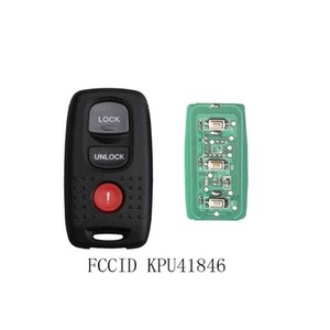 3Buttons Keyless Entry Remote Key DIY pour Mazda 3 6 KPU41846 pour Mazda 3 6 2004 2005 2006 2007 2008 Clés à distance originales