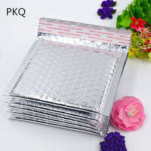 500pcs 11*13cm Small Silver Bubble Envelope Mailer Gift Cosmetic Case Shockproof Packaging Bubble Envelope Bag Free Shipping