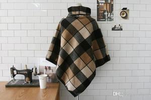 Sciarpa di modo il nuovo disegno plaid Stole di alta qualità delle donne 2018 di lana di inverno caldo mantello Coperte Stripe Large Size