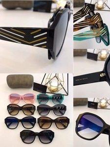Di lusso occhiali da sole per le donne disegno popolare Moda Poligono montatura da sole di cristallo Metarial 4303 donne di stile di moda Vieni con Package