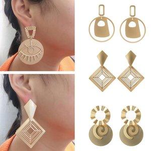 2020 Fashion Silver Gold Statement Earrings American European Womens Hoop Earring Fashion Jewelry Gifts
