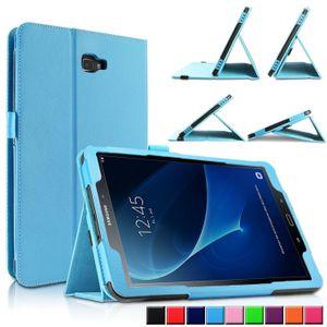 For Samsung Galaxy Tab A6 10.1 Inch (2016) T580 T585 Case Pu Leather Cover Stand Smart Case For Samsung Galaxy Tab A6 10.1 Case T190711
