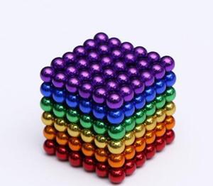 Magic Ball 3mm palle magnete al neodimio Sfera 216pcs / set magneti creativi imanes Magia Strong NdFeB sfere colorate buck Fun Cube Puzzle