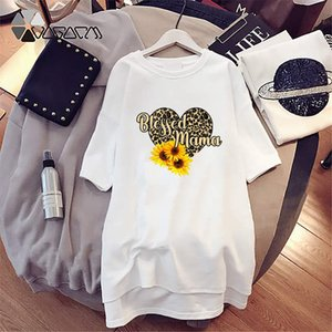 Women Designer T Shirts Long Style Dress For Girl Casual Tees Printed Letters Brand T Shirt Dresses Luxury Shirts1