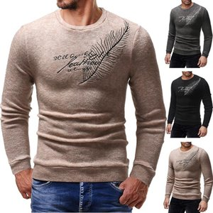 2020 brand casual social ear of wheat pullover men sweater shirt jersey clothing pull sweaters mens fashion male knitwear