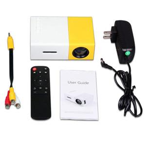 Perakende Taşınabilir Projektör YG300 Mini Dijital 4K Ev Projektör LCD HDMI, USB 800 Lümen Tiyatrosu Çocuk Eğitim Projetor