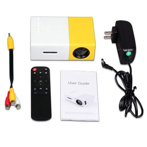 Retail portátil Projector YG300 Mini Digital 4K Projetor Home LCD HDMI USB 800 Lumen Teatro Educação Infantil Projetor