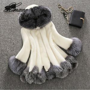 Xnxee women's new fur coat women's fur coat long section