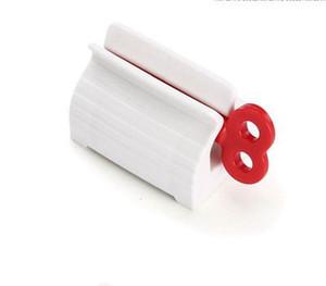 Tubetto di dentifricio Squeezer stand attaccatura del supporto del dentifricio in pasta Cleanser estrusore Morsetti dentifricio clip rotolamento Dentifrici Dispenser EEA1340-8