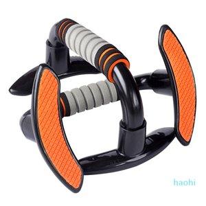 Großhandels-Plastic Sport Push-Up Ständer Bars Arm Muscle Power-Trainer Gym Übung Brusttraining Expander Ausstattung Bar Parallel