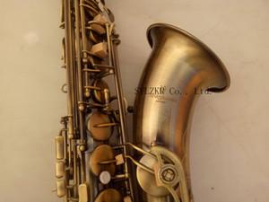 Профессиональное качество YANAGISAWA T-992 Bb тенор-саксофон латунь музыкальный инструмент матовый античная медь ушко оболочки кнопка с мундштуком