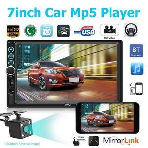 5Pcs / Lot X6 7-Zoll-HD MP5 Spieler 2 Din Bluetooth Stereo Car Multimedia Bluetooth-Freisprecheinrichtung Telefonanschluss