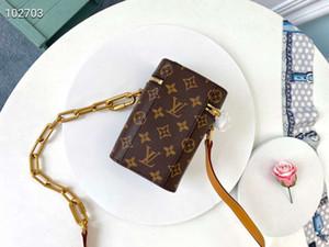 Marcas para mujer pesada embarcación fragua de manera hermoso personalizados edición mujeres de la moda de tendencia solo hombro caja de teléfono tamaño de la bolsa 10.5 * 17 * 5cm