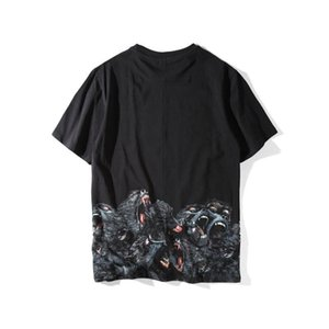 Luxury Mens Designer T Shirt Mens Clothing 3D Orangutans Summer T Shirt Hip Hop Men Women Short Sleeve Size S-XXL6526