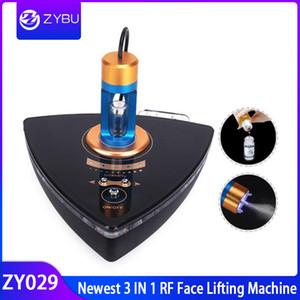 أحدث معدات صالون تجميل RF رذاذ الأكسجين RF رفع الضوء الأزرق إزالة حب الشباب العناية بالبشرة ترددات الراديو العناية بالوجه آلة الجمال
