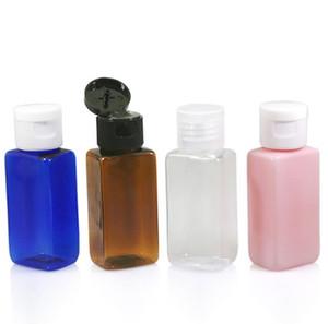 모듬 색상 채우는 플라스틱 PET 플립의 쉬운 캡 도매 SN694을 광장 샘플 병 병 300PCS 30ML