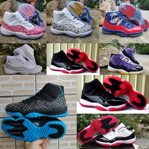 2020 ajbox arrival retroMichaelAir NakeskinJordan 11 MenScarpeTravisScott women basketball Outdoor Shoes