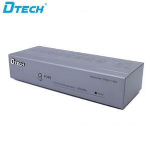 Popüler madde Bilgisayar monitörü güvenlik kamerası CCTV fiş ve 500MHZ HD 1080P oynamak 1 giriş 8 çıkış 8 port VGA ses splitter