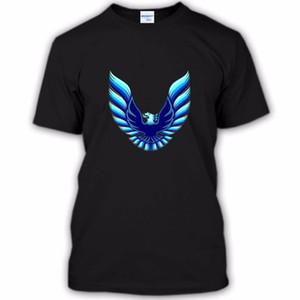Été 2019 col rond pour hommes T-shirt pour hommes Nouvelle impression 3d Firebird Trans Logo Tee shirt Cool Été