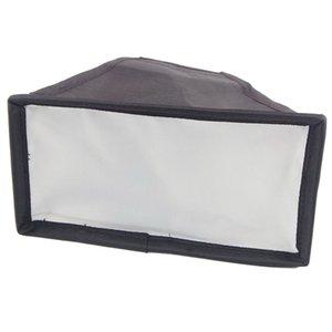 소프트 박스 8x15cm 플래시 디퓨저 휴대용 접이식 범용 디지털 SLR 카메라