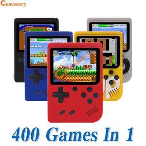 400 1 Taşınabilir El Oyunları Konsol Oyun Pad Retro 8 Çocuk Perakende Ambalaj için 3 İnç Renkli LCD Ekran En Hediyeler bit