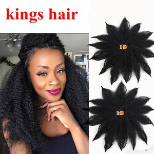 8Inch 14roots pack Short Marley Hair Crochet Afro Kinky Twist Crochet Hair Marley Twist Crochet Braids Synthetic Kinky Hair Extension