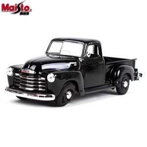 Maisto Alloy, modèle de voiture, 1950 Chevrolet 3100 Pick-up Truck, voiture classique rétro, pour cadeau d'anniversaire de fête enfant, collection, décoration de la maison