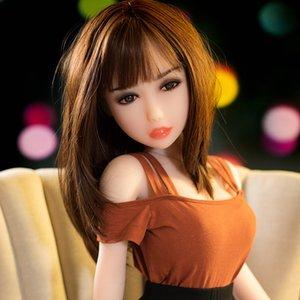Neue reale Silikon-Geschlechts-Puppe 125cm Male Sex und Erotik Life Size Big Breast Ass Vaginapussy weiblich Full Body Love Doll Japanese