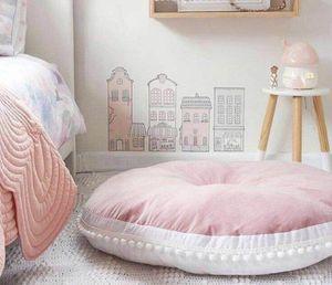 Tapis bébé Tapis de jeu Nouveau-né Infant Rampant Tapis de couchage doux Coton Tapis grimpant Plancher tapis