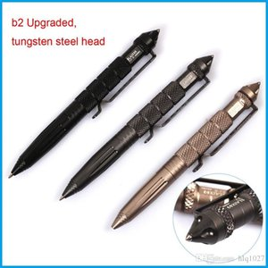 Wholesale B2W Outdoor Self Defense Tactical Pen Defence Tool Self-defense Equipment Personal Safety Survival Pen Free Shipping