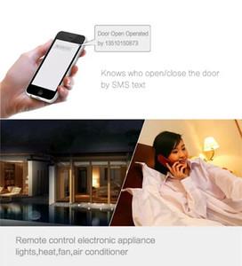 200 الأعضاء الرئيسية GSM وحدة التحكم عن بعد وصول المراقب لباب كهربائي عبر SMS GSM بوابة فتاحة