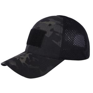 Deportes al aire libre Camo Sombrero de la marina de guerra Marines del ejército Combate de asalto Gorra de béisbol Gorra de camuflaje táctico SO07-011