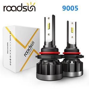 Roadsun voiture Led Phares Ampoules lampe H4 H7 H11 H1 9005 9006 Car Auto Haut Bas Faisceau 6000K 12V Head Light pour bmwe90 mercedes ford focus