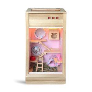 Miel planeador honeyweasel ratón vuele cuatro estaciones caja de la preservación del calor especial de alto diablo jaula de ardilla rey dragón gato