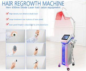 NOUVEAU Augmentation de cheveux New 650nm Diode Laser Hair Repousse équipement de salon machine / cheveux