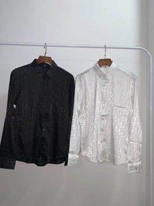 Fashion Men's Shirts luxury Mens Business Casual Shirt men Dress