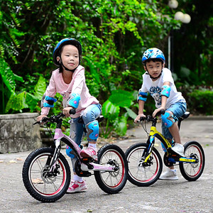 Carbon Fiber Lightweight Childrens Bicycle 16-Inch Primary School Mountain Bike Boys and Girls Bicycle Princess Stroller Bicycle