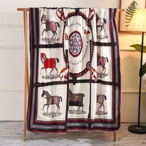 1pc Automne Hiver série Lamb cachemire couverture chaude Couvertures en molleton super doux et chaud Throw Canapé-lit Couverture rectangulaire Couverture #Un