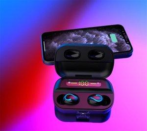 BT 5.0 Touch Control HD qualidade de som Correr Desporto Earbuds Waterproof Em fone de ouvido Bluetooth Fones J3 # OU375