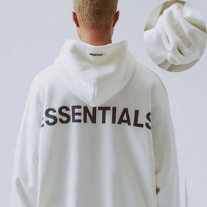 Gottesfurcht Hoodies der Frauen der Männer FOG Essentials-Hoodies Reflective langen Ärmeln PulloverHoodie Fest FOG Sweatshirts asiatische Größe S-XL