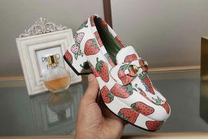 strawberry women chunky heels pumps shoes slip on princetown ladies fashion cat walk heels shoes autumn new design dress pumps shoes zapatos