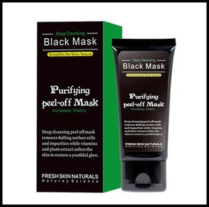 EPACK Black Mask Anti-Aging 50ml SHILLS Deep Cleansing purifying peel off Black face mask Remove blackhead Peel Masks With DHL Shipping
