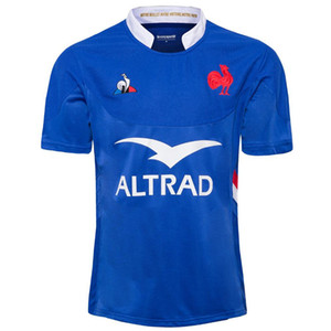 Francia 19/20 Adults Rugby Jerseys Camicia Francia Maillot Camiseta Maglia Top S-5XL TRIKOT KIT CAMISAS Tops